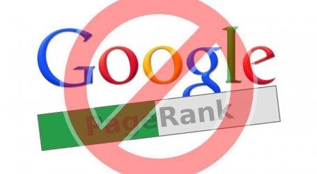 A Google Pagerank halott, megszűnt